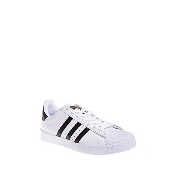 Adidas Superstar Vulc Adv (White/Black/White) D68718 Skateboarding Shoe (12)