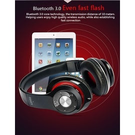 Premium Bluetooth 4.1 Over-Ear Headphones with MicroSD Slot - Assorted Colors
