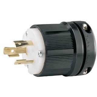Cooper Wiring Devices 309-CWL520P Plug 20A 125V 2P3W H-L Bw