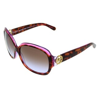 Michael Kors MK6004 KAUAI 300368 Tortoise/Purple Square Sunglasses