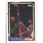 Terry Mills Detroit Pistons 1993 Topps Autographed Card This item comes with a certificate of authenticity from Autog