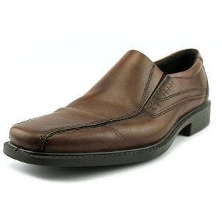 Ecco New Jersey Men  Bicycle Toe Leather Brown Loafer