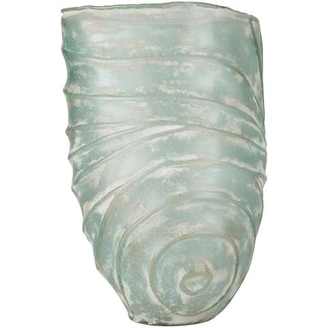 Aviana Aqua Glass Vase