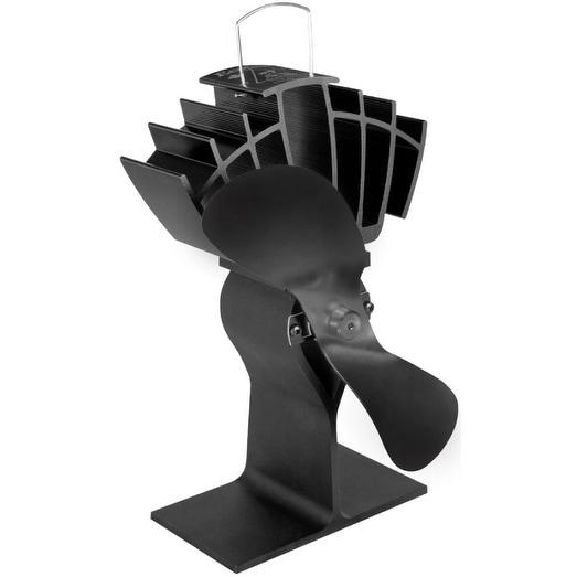 Caframo 810CAXBX Ecofan UltrAir Wood Stove Fan, 125 CFM, Black