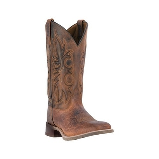 "Laredo Western Boots Mens Rancher Rust 11"" Mesh Lining Rust 7835"