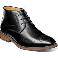 Florsheim Men's Blaze Chukka Boot Black Leather