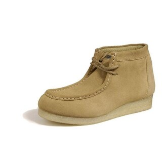 Roper Western Shoes Mens Chukka Suede Wide Tan