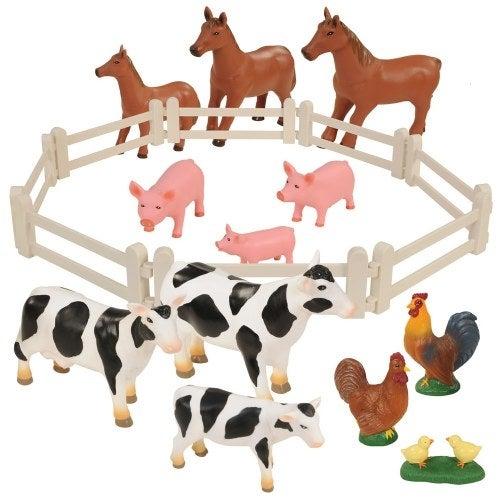 Farm Animal Families - Set of 20