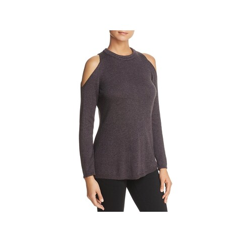 Nic + Zoe Womens Casual Top Sparkle Knit