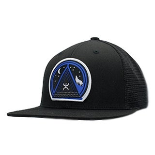 HOOey Hat Mens Trucker Music Snapback Mesh One Size Black