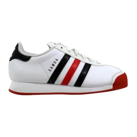 fbba3cf50cd45 Adidas Samoa White Red-Black G56527 Grade-School