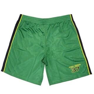 John Deere Western Shorts Mens 1837 Mesh Polyester JD Green 13651427 (Option: L)