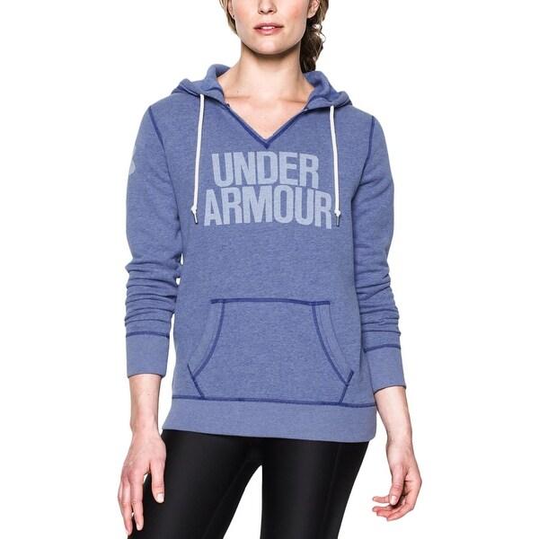 043e5e1e19 Shop Under Armour Womens Hoodie Fleece Pullover - Ships To Canada ...