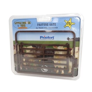 Little Buster Toy Heavy Duty Metal Pasture Gate Brown 500219