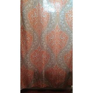Intelligent Design Sabrina Printed Shower Curtain