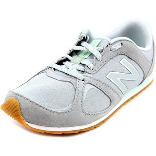 New Balance WL555   Round Toe Suede  Sneakers