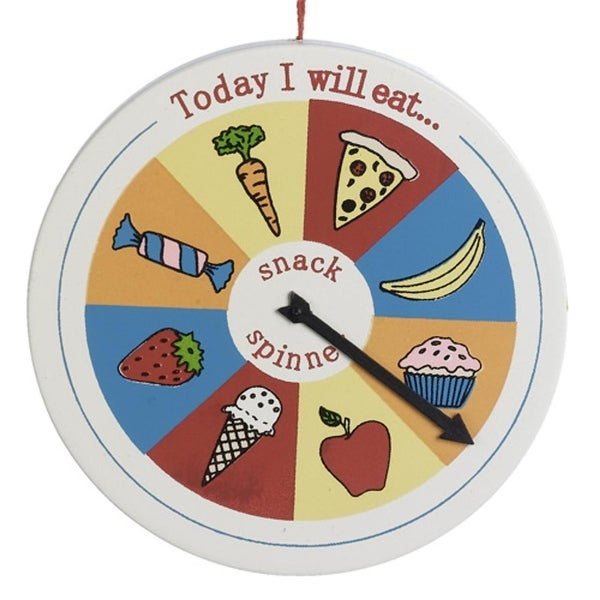 "3.5"" Snack Eaters Spinner Magnet Christmas Ornament #838310"