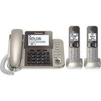 Panasonic Kx-Tgf352n Corded/Cordless Phone & Answering Machine - 2 Cordless Handsets