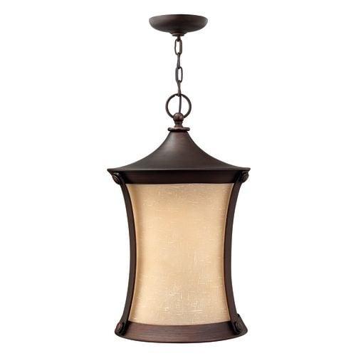 Hinkley lighting h1282 1 light outdoor lantern pendant from the hinkley lighting h1282 1 light outdoor lantern pendant from the thistledown collection aloadofball Images