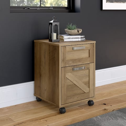 Cottage Grove 2 Drawer Mobile File Cabinet by Bush Furniture