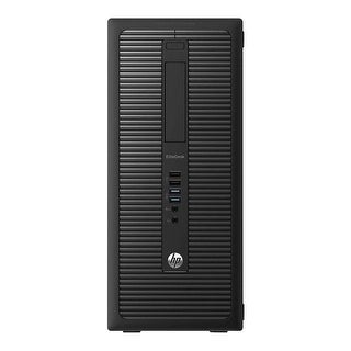 HP EliteDesk 800G1 Computer Tower Intel Core I5 4570 3.2G 8GB DDR3 1TB Windows 10 Pro 1 Year Warranty (Refurbished) - Black