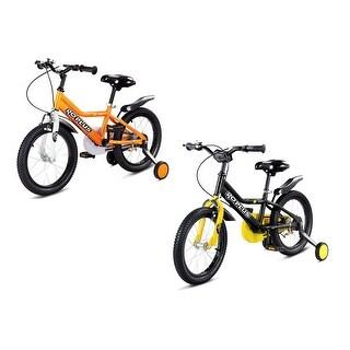 Costway 16'' Children Kids Bike Boy Girl Bicycle Training Wheels Toddler Ride New