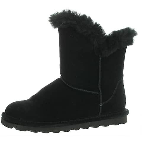 Bearpaw Womens Addilyn Winter Boots Cold Weather Ankle - Hickory II - 8 Medium (B,M)