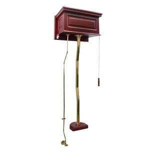 High Tank Pull Chain Toilet Cherry Brass Conversion Kit | Renovator's Supply