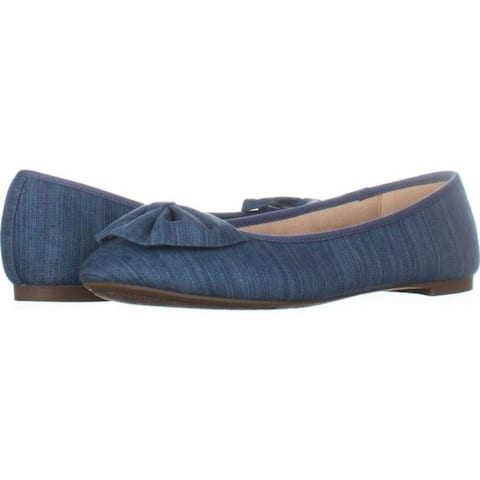 Circus by Sam Edelman Women's Shoes Ciera Leather Closed Toe Ballet Flats