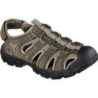 Skechers Men's Relaxed Fit Conner Selmo Fisherman Sandal Olive