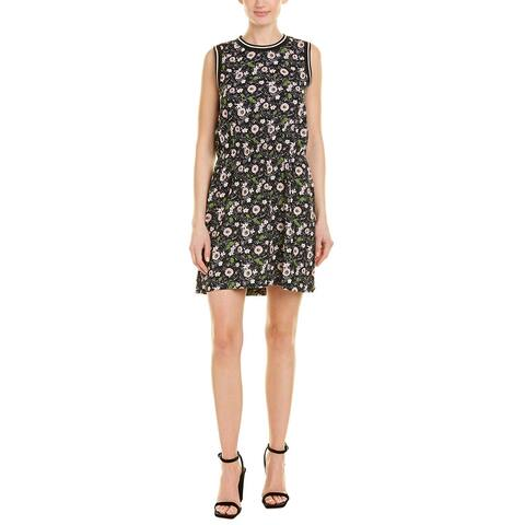 Anna Sui Floating Flowers Shift Dress