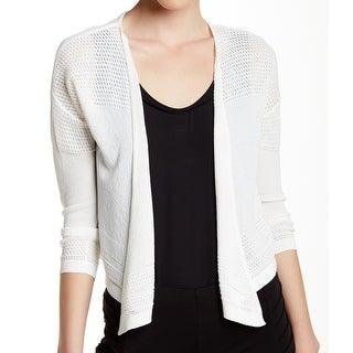 Catherine Malandrino NEW White Women's Size Small S Cardigan Sweater