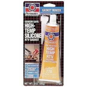 Permatex 81422 High-Temp RTV Silicone Gasket, 3 Oz