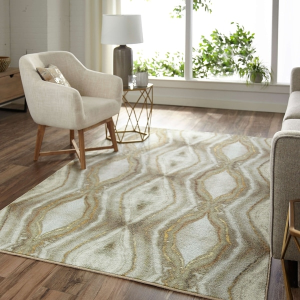 Mohawk Home Modern Gem Abstract Area Rug. Opens flyout.