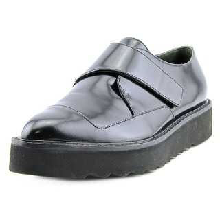Vince Arden Round Toe Leather Loafer