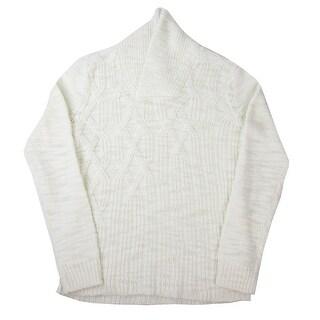 Calvin Klein NEW White Ivory Mens Size 2XL Shawl Collar Sweater