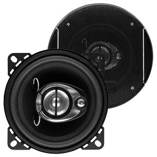 """Soundstorm 4"""" 3-Way Speaker 200W Paper Cone"""