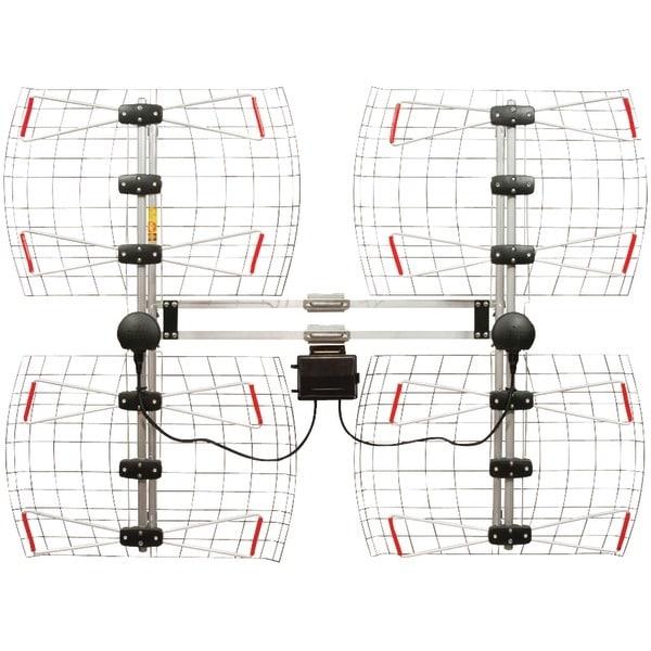Antennas Direct Db8-E Enhanced Db8E Multidirectional Bowtie Uhf Antenna