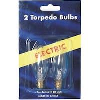 J Hofert 2Pk Electric Candle Bulb 1406-2 Unit: PKG