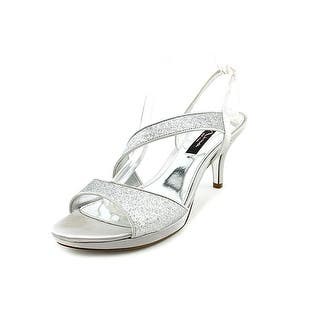 3c0289dcc3b6 Nina Womens Charm Fabric Peep Toe Special Occasion Slingback Sandals ·  Quick View