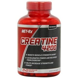 MET-Rx Creatine 4200 240 Gelcaps