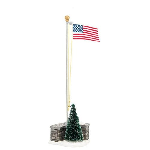 Department 56 Accessories Village Stars and Stripes Accessory, 2.68-Inch