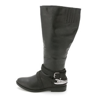 Rampage Women's Isadora Wide Calf Riding Boots