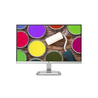 "Refurbished - HP 24EA 23.8"" IPS LED backlight Monitor 1920x1080 Full HD VGA HDMI Speakers"