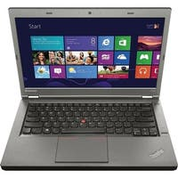 "Lenovo Thinkpad T440P 14.0"" Refurb Laptop - Intel Core i5 4300M 4th Gen 2.6 GHz 8GB 240GB SSD Windows 10 Pro - Webcam, Grade B"