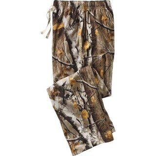Legendary Whitetails Men's Big Game Camo Woodlot Cotton Lounge Pants - big game camo