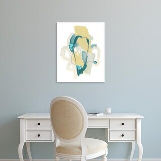 Easy Art Prints June Erica Vess's 'Basilisk I' Premium Canvas Art