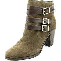 INC International Concepts Womens Laini Leather Closed Toe Ankle Fashion Boots