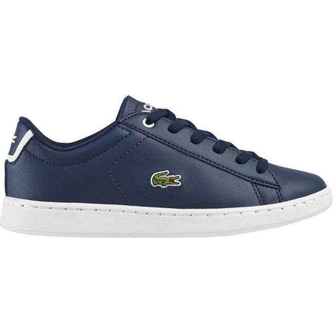 5cda5b540f Lacoste Children's Carnaby EVO Sneaker - Little Kid Navy/Navy Synthetic  Leather
