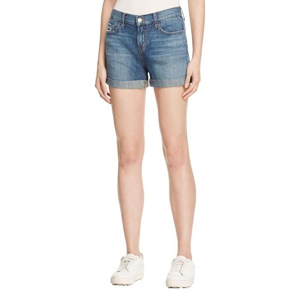 J Brand Womens Joey Denim Shorts Low Rise Cut Off
